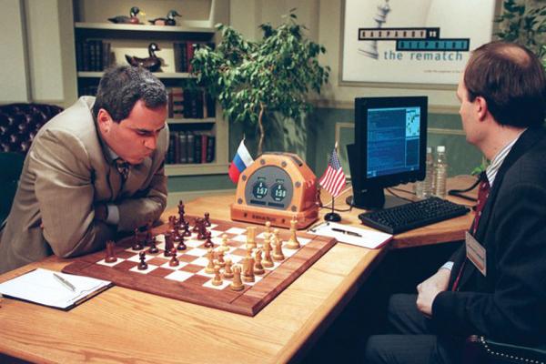 искусственный интеллект обыграл Гари Каспарова в шахматы