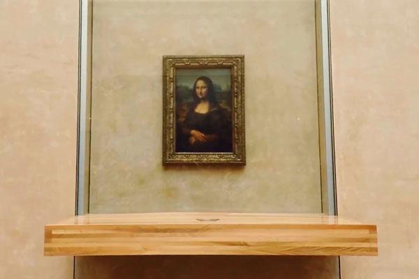 картина Да Винчи Мона Лиза