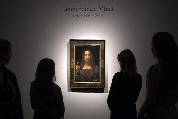 картина Спаситель Мира - Леонардо да Винчи