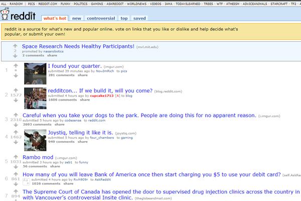 Reddit история создания