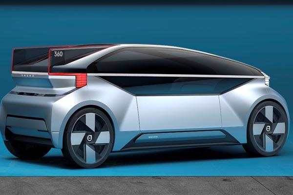 Беспилотный автомобиль Volvo 360c