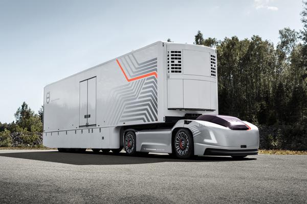Беспилотный грузовик Volvo Vera