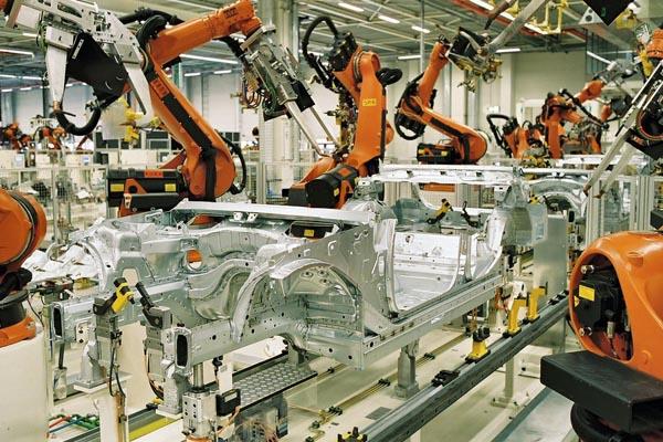 Статистика мировой плотности промышленных роботов