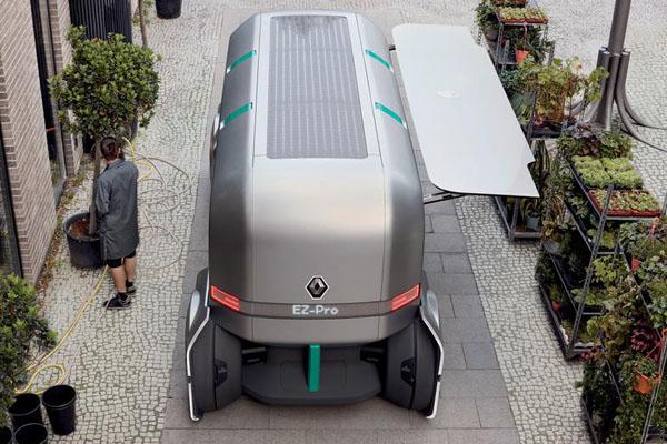 беспилотный автомобиль Renault EZ-Pro