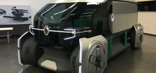 беспилотный концепт Renault EZ-Pro