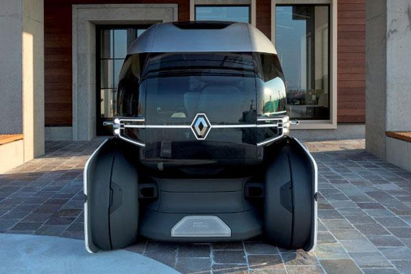 беспилотный транспорт Renault EZ-Pro