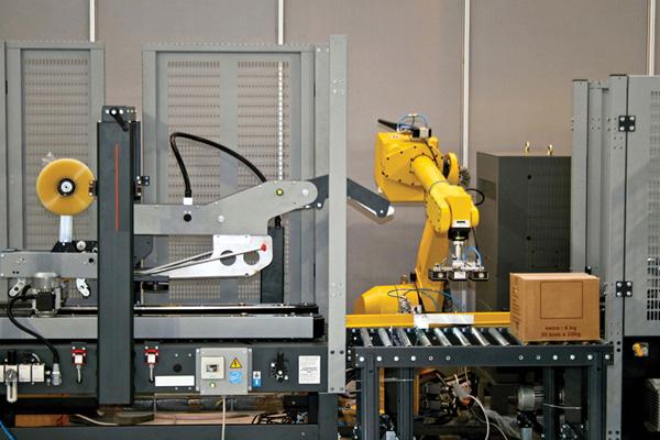 как устроен промышленный робот