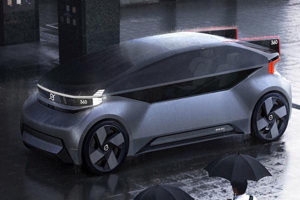 новый беспилотный автомобиль Volvo 360c