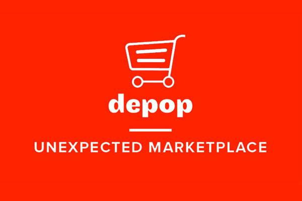 популярный маркетплейст Depop