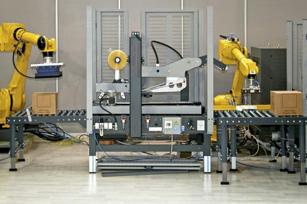 робот манипулятор упаковщик