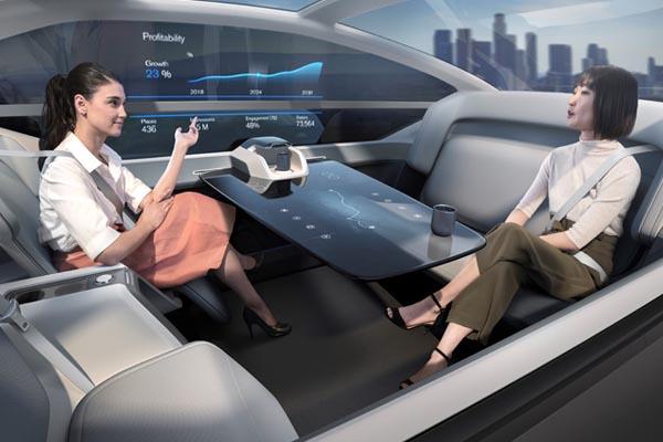Volvo 360c - беспилотный автомобиль