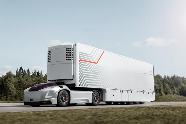 Volvo Vera - беспилотный грузовик