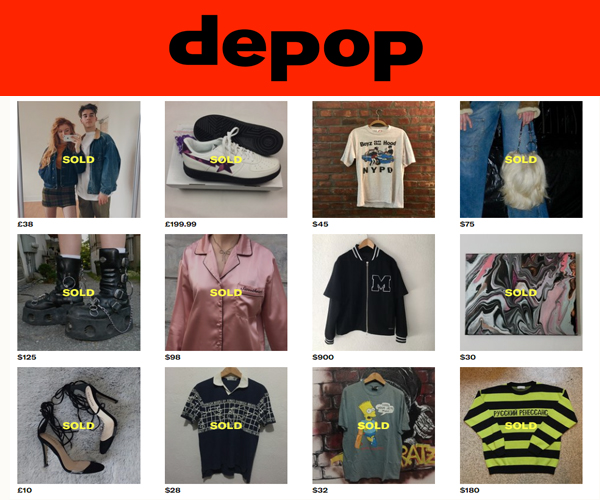depop маркетплейс