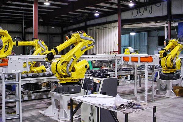 управление роботизированным манипулятором на производстве