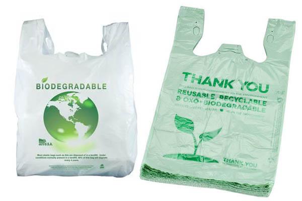 биоразлагаемый пластиковый пакет