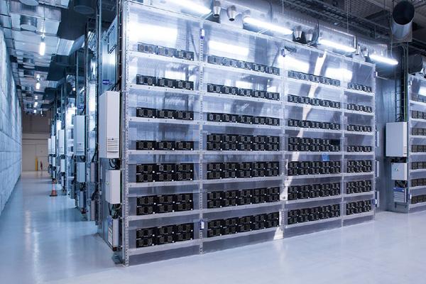 хранение информации в дата-центре Verne Global