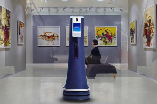 робот ассистент Cobalt Robotics