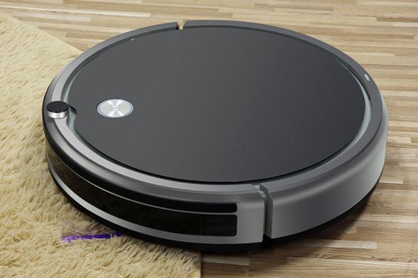 Робот пылесос в квартире