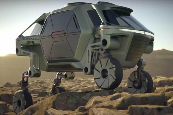 Hyundai Elevate новый тип транспорта