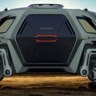 Спасательный автомобиль Hyundai Elevate