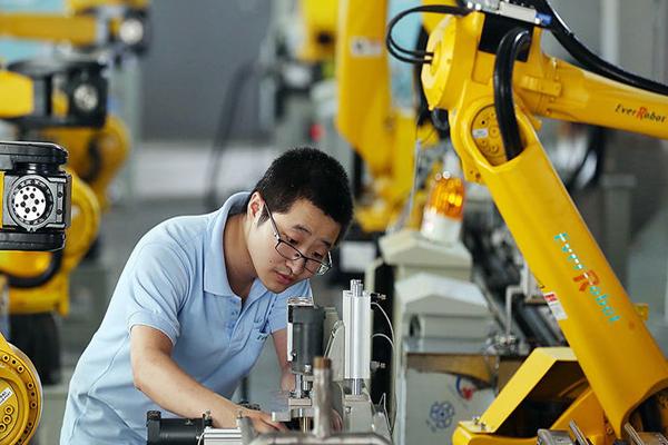 промышленные роботы в Китае