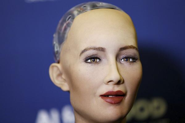 Робот София - Robot Sophia