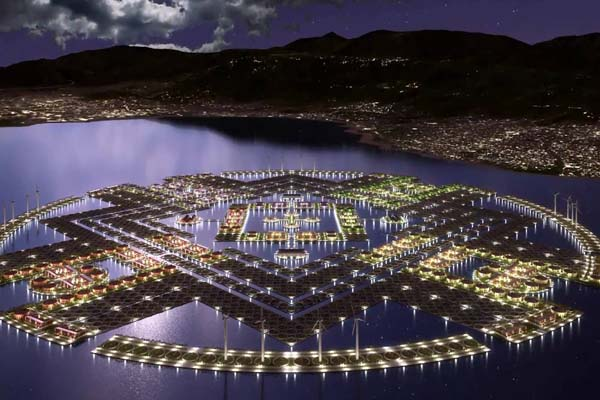 Гаити — плавучий город будущего