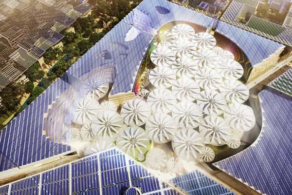 Масдар умный город будущего
