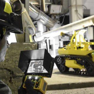 Пожарная робототехника: международный опыт