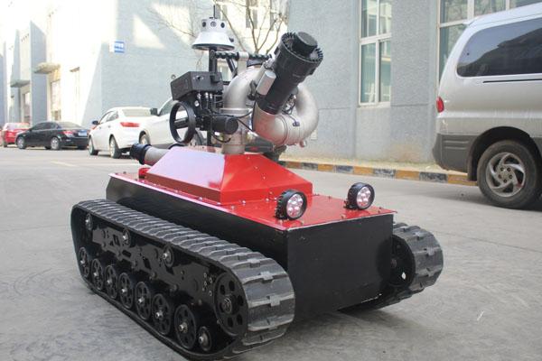 пожарная робототехника разных стран