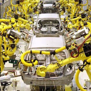 Применение промышленных роботов: популярные направления роботизации