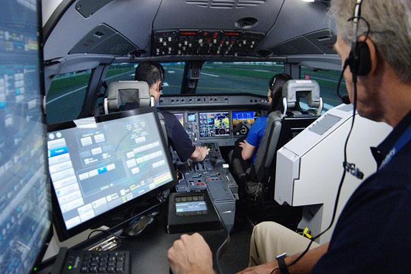 Тренажер виртуальной реальности Flight Safety