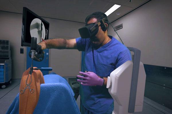 Тренажер виртуальной реальности в медицине