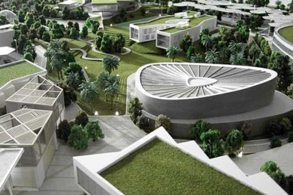 Зеленый город в Дубае - умный город будущего