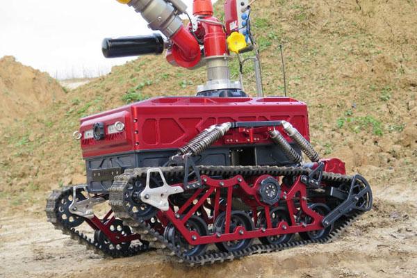 пожарно-спасательная робототехника