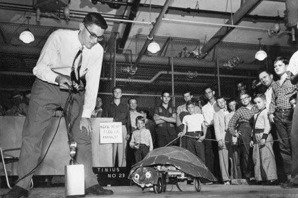 робот черепаха Грея Уолтера - история развития робототехники