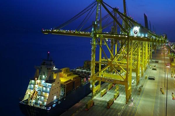 самый большой порт в мире - Порт Джебель - Али
