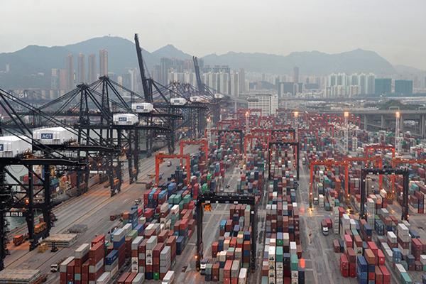 самый большой порт в мире - Порт Гонконга