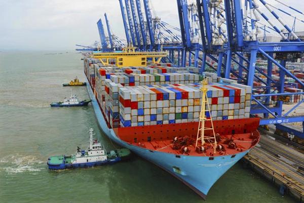 самый большой порт в мире - Порт Гуанчжоу