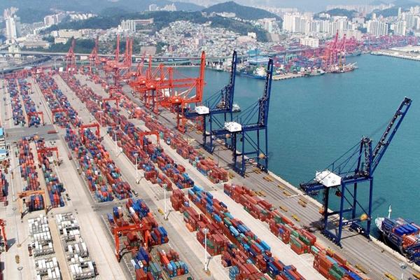 самый большой порт в мире - Порт Нинбо