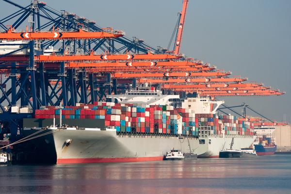 самый большой порт в мире - Порт Роттердама