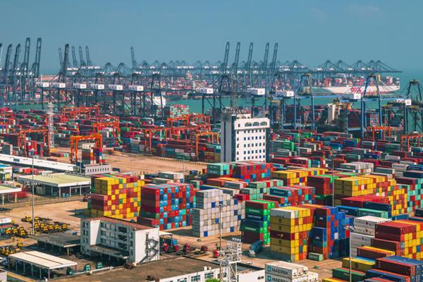 самый большой порт в мире - Порт Шэньчжэнь