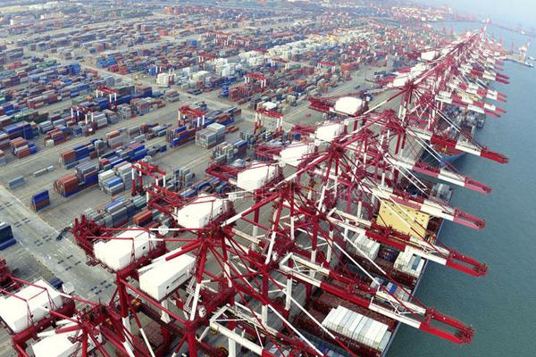 самый большой порт в мире - Порт Циндао