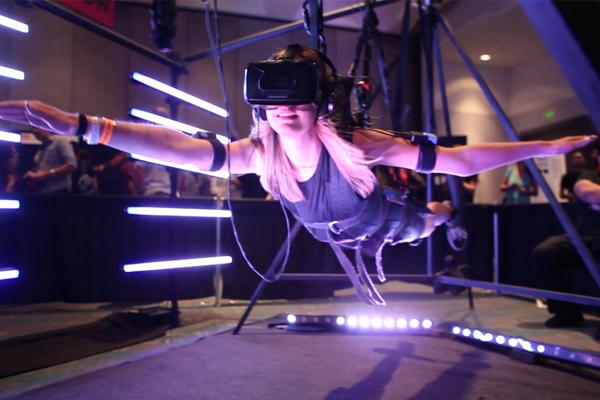 выставка виртуальной реальности Virtual Reality LA