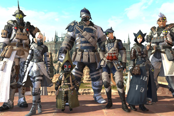 Final Fantasy XIV - топ популярных онлайн игр