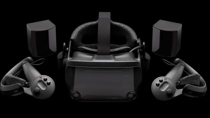 Шлем виртуальной реальности Index VR от Valve