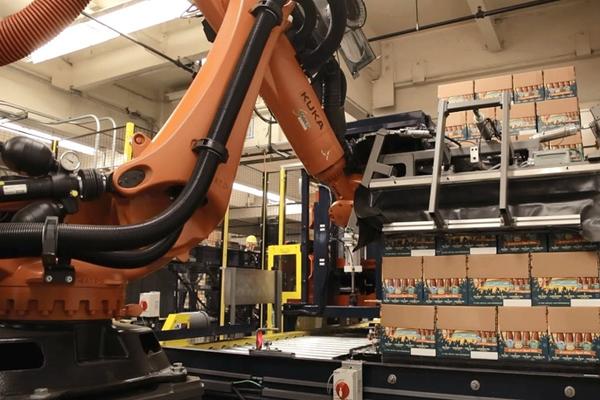 консольные промышленные роботы Kuka