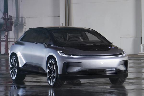 Модельный ряд автомобилей Faraday Future