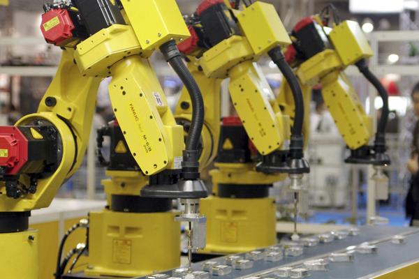 Основные модели роботов Fanuc