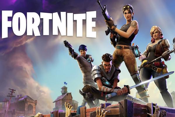 Топ самых популярных онлайн игр - Fortnite Battle Royale